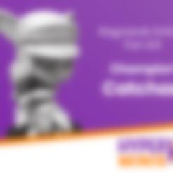 Télécharger fichier STL gratuit Champion Chibi Catchan, HyperMiniatures