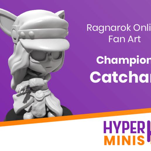 Download free 3D printer files Chibi Champion Catchan, HyperMiniatures