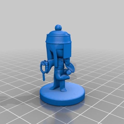Download free STL file Balanced Monk Liu • 3D print design, HyperMiniatures