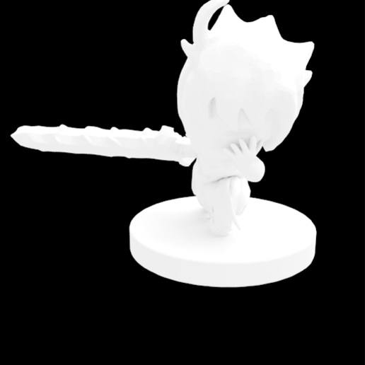 Download free STL file Corrupted Demon Eric • 3D printing model, HyperMiniatures