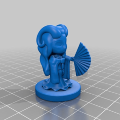 Download free STL file Demon Warlock Fehria • 3D printing object, HyperMiniatures