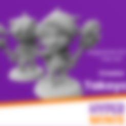 Download free STL file Chibi Creator Takoyaki - Ragnarok Online Fan Art, HyperMiniatures