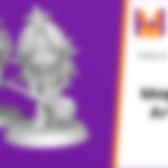 Download free STL file Chibi Angela | Trials of Mana (Seiken Densetsu 3) • 3D printing model, HyperMiniatures