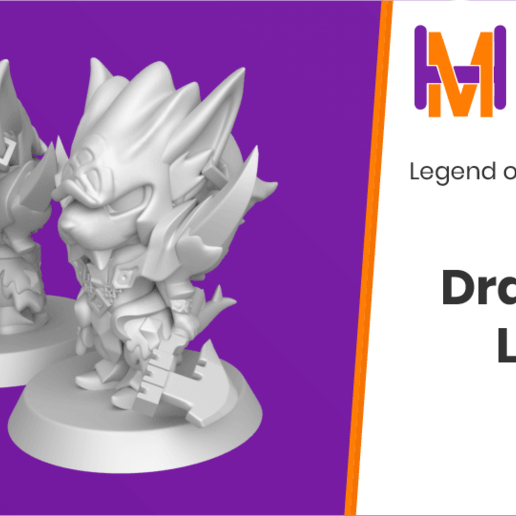 Download free STL file Chibi Larc | Legend of Mana • Template to 3D print, HyperMiniatures