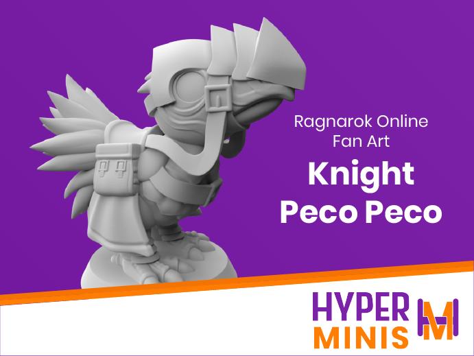 Chibi_Knight_Peco_Peco.png Download free STL file Chibi Knight Peco Peco • 3D print template, HyperMiniatures