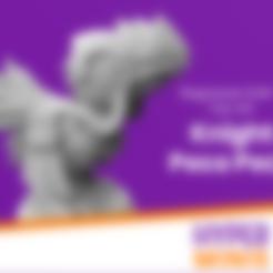 Télécharger fichier STL gratuit Chevalier Chibi Peco Peco Peco Peco • Objet imprimable en 3D, HyperMiniatures