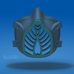 Download free 3D printing models KoS Facemask , KosDizayN3d