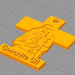 Descargar diseños 3D Colgante Gauchito Gil, agustinbonelli