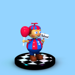 BB0000.png Download STL file FNAF - Balloon Boy Wammy Toy • 3D printer object, Sahiko12