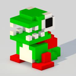 Descargar modelo 3D Dig Dug - Green Monster, Sahiko12