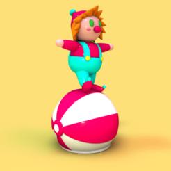 Charlie0242.png Download STL file Circus Charlie • 3D print design, Sahiko12