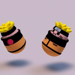 Download 3D printer designs Naruto - Potato Edition, Sahiko12