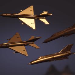 Descargar archivos STL gratis Paquete MiG-21, erikgen