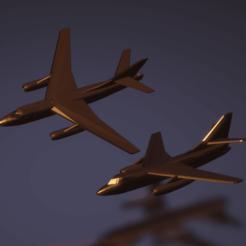 Impresiones 3D gratis Destructor Douglas B-66B/RB-66B/EB-66E, erikgen
