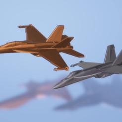 Descargar diseños 3D gratis Boeing F/A-18E/F Super Hornet, erikgen