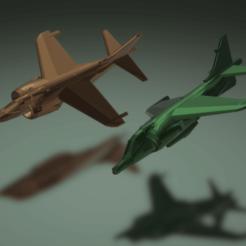 Descargar Modelos 3D para imprimir gratis Aguilucho pálido pálido Hawker GR.1/GR.3, erikgen