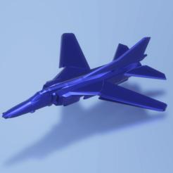 Descargar archivo 3D gratis Mikoyan Gurevich MiG-27M Flogger J, erikgen