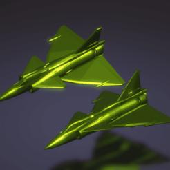Descargar archivos 3D gratis Saab 37 Viggen, erikgen