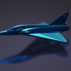Descargar STL gratis Dassault Mirage 2000N/2000D, erikgen