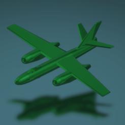 """Download free STL files Ilyushin Il-28 """"Beagle"""", erikgen"""
