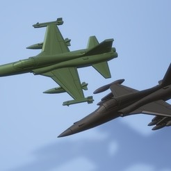 titolo.jpg Download STL file 1: 200 Northrop F-5 Freedom Fighter • 3D print model, ErikGen