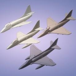 Titolo1.jpg Télécharger fichier STL 1:200 Douglas A-4 Skyhawk • Modèle pour impression 3D, ErikGen