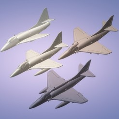 Titolo1.jpg Download STL file 1:200 Douglas A-4 Skyhawk • 3D printable design, ErikGen