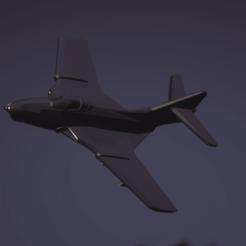 Download free 3D printer files Grumman F9F-8 Cougar, erikgen