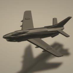 Imprimir en 3D gratis Aeritalia G.91Y, erikgen