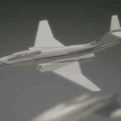 Download free 3D printer designs McDonnell F-101B Voodoo, erikgen