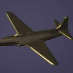 Download free 3D printing files Lockheed F-80C Shooting Star, erikgen