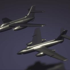 Download free 3D printing designs S.O. 4050 Vautour II, erikgen