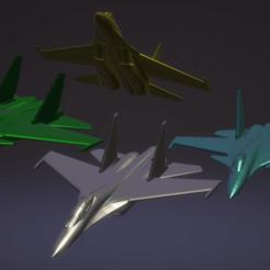 Descargar archivos 3D gratis Sukhoi Flanker pack, erikgen