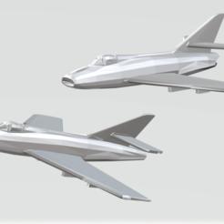 Descargar diseños 3D gratis Dassault Super Mystere B2 / IAI Sa'ar, erikgen
