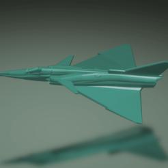 Descargar modelo 3D gratis IAI Kfir C2, erikgen