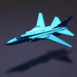 Descargar archivos 3D gratis Sukhoi Su-24 Fencer, erikgen