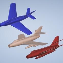 titolo.jpg Télécharger fichier STL 1:200 Dassault MD 454 Mystère IV • Plan imprimable en 3D, ErikGen
