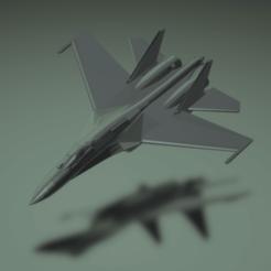 Descargar archivo 3D gratis Sukhoi Su-35S Flanco E, erikgen