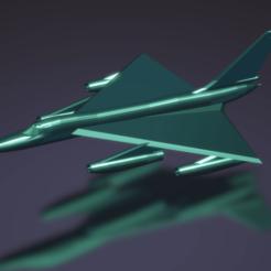 Descargar archivo 3D gratis Convair B-58 Hustler, erikgen