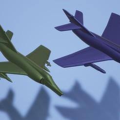 titolo.jpg Télécharger fichier STL 1:200 Dassault Étendard IV M / Dassault-Breguet Super Étendard • Modèle pour impression 3D, ErikGen