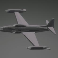 Descargar archivos STL gratis Lockheed T-33A Shooting Star, erikgen