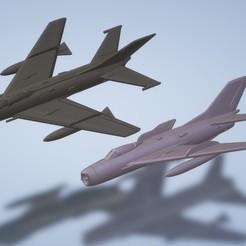 Titolo.jpg Télécharger fichier STL 1 : 200 Mikoyan-Gurevich MiG-19 • Modèle à imprimer en 3D, ErikGen