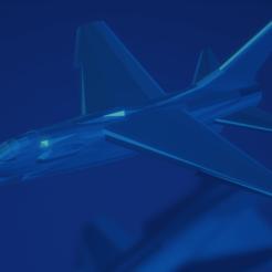 Download free STL file F-8E Crusader, erikgen