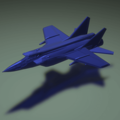 Download free 3D printing designs MiG-31 Foxhound, erikgen
