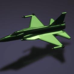 Imprimir en 3D gratis FC-1 Xiaolong / JF-17 Thunder, erikgen