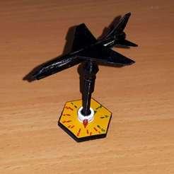Descargar modelos 3D gratis Soporte para avión en miniatura con cabezal orientable, erikgen