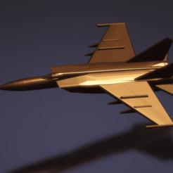 Imprimir en 3D gratis MiG-25P FOXBAT A, erikgen
