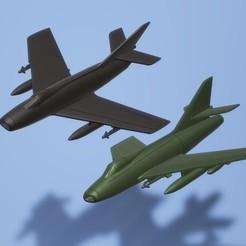 titolo.jpg Télécharger fichier STL 1:200 Dassault Super Mystère B2 / IAI Sa'ar • Modèle pour impression 3D, ErikGen