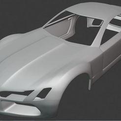 Descargar archivos STL Body Car - Mercedes Benz 3D Print, ryanmaicol