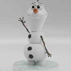 Download OBJ file Olaf from FROZEN 3D print model • 3D print object, ryanmaicol